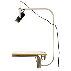 Fontana Desk Lamp with Clamp Base, Italy, 1970s
