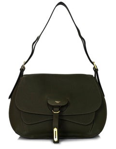 Fontana Milano 1915 Green Weight Medium Saddle Hobo Bag rt. $3,720