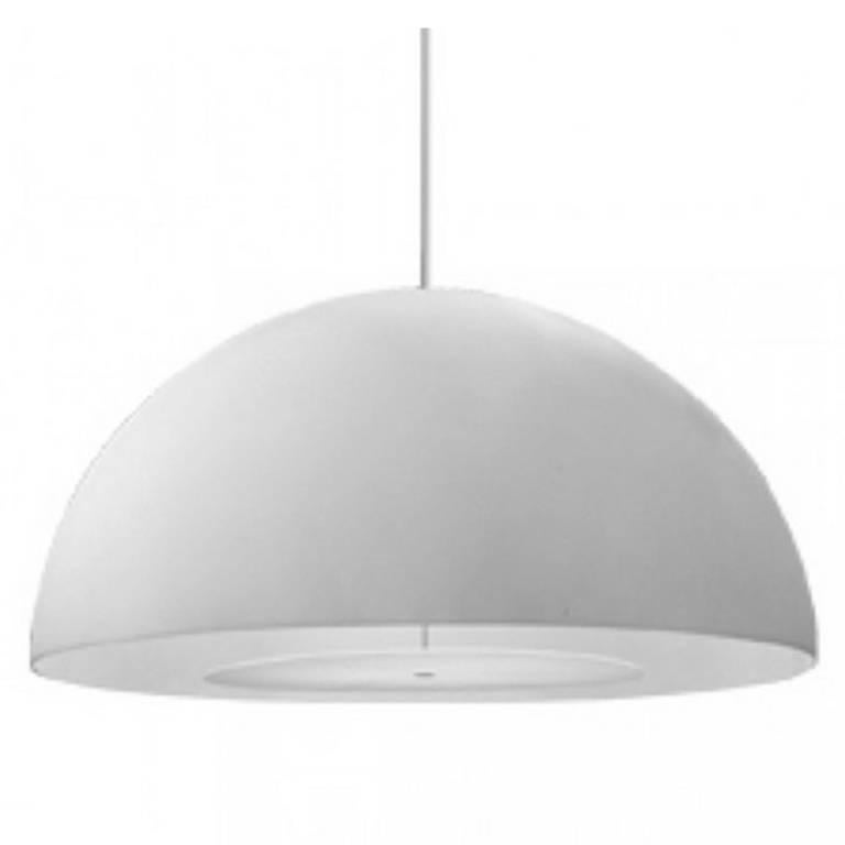 FontanaArte 'Avico' White Outdoor Pendant Lamp Designed by Charles Williams For Sale