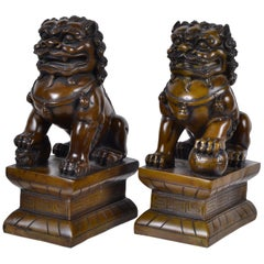 Foo Dogs, Bookends, a Pair