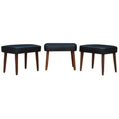 Footrest Seat Original Vintage Danish Design