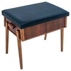 Footstool, Seat with Storage Space, Denmark, 1960s