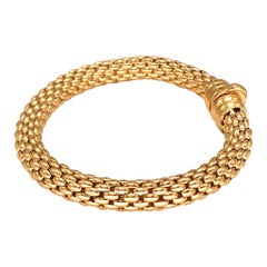 Fope 18k Rose Gold Flex It Bracelet