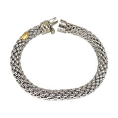 Fope 18k White Gold Flex It Bracelet