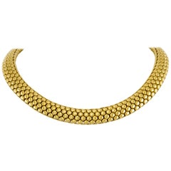 Fope Italy Choker 18 Karat Necklace