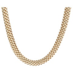 Fope Love Nest Necklace in 18 Karat Yellow Gold