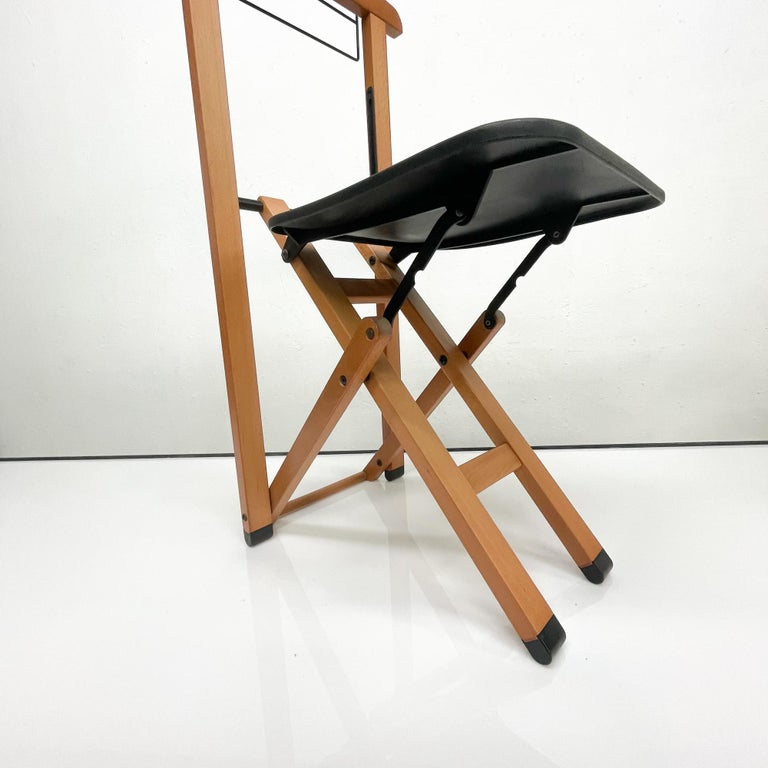 Foppapedretti Suite Valet Stand Chair Italian Modern In Good Condition For Sale In National City, CA