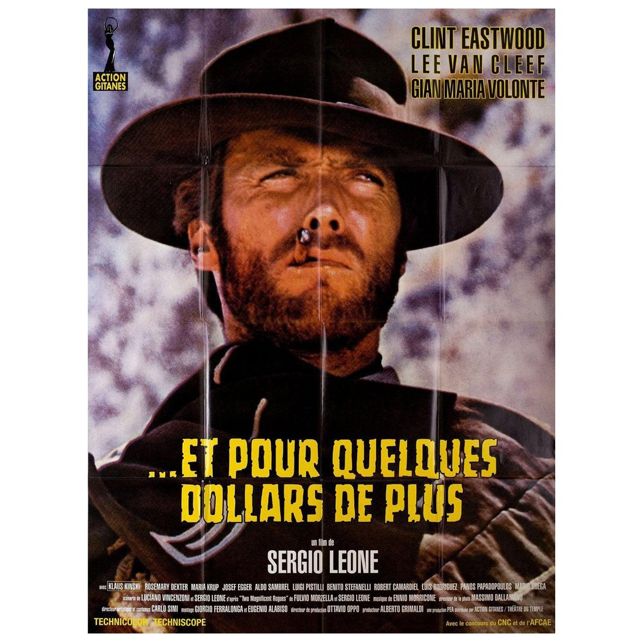 For a Few Dollars More R2000s French Grande Film Poster
