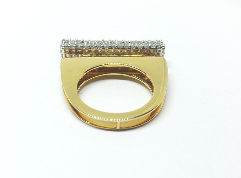 Women's Ring for a Woman Who Created Heirloom in Her Vision to Be Handed Down for Gen-Ex For Sale