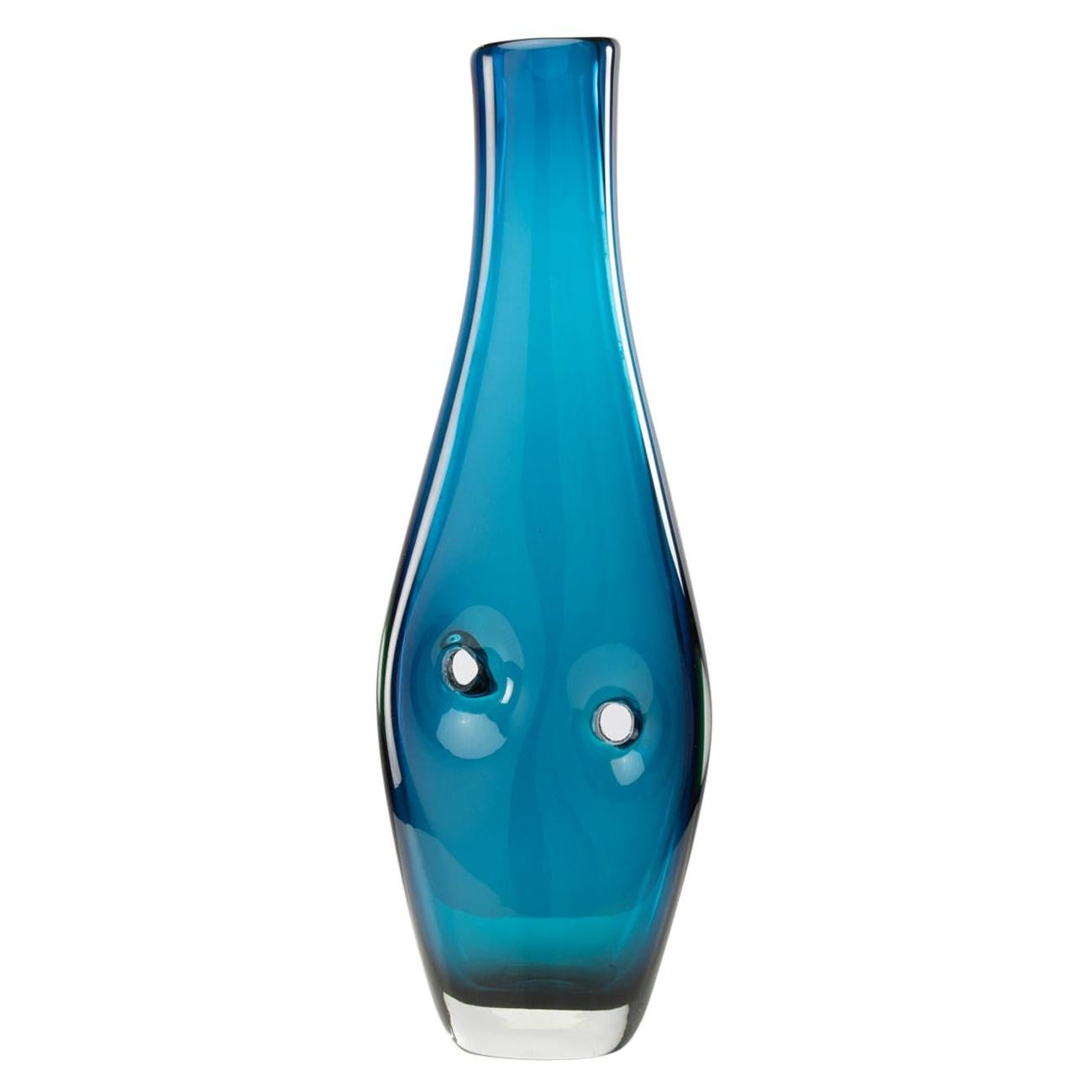 Forato Vase 'model 4520', Fulvio Bianconi, Venini Murano 'Italy'