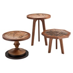 Forest Occasional Table with Marble Top