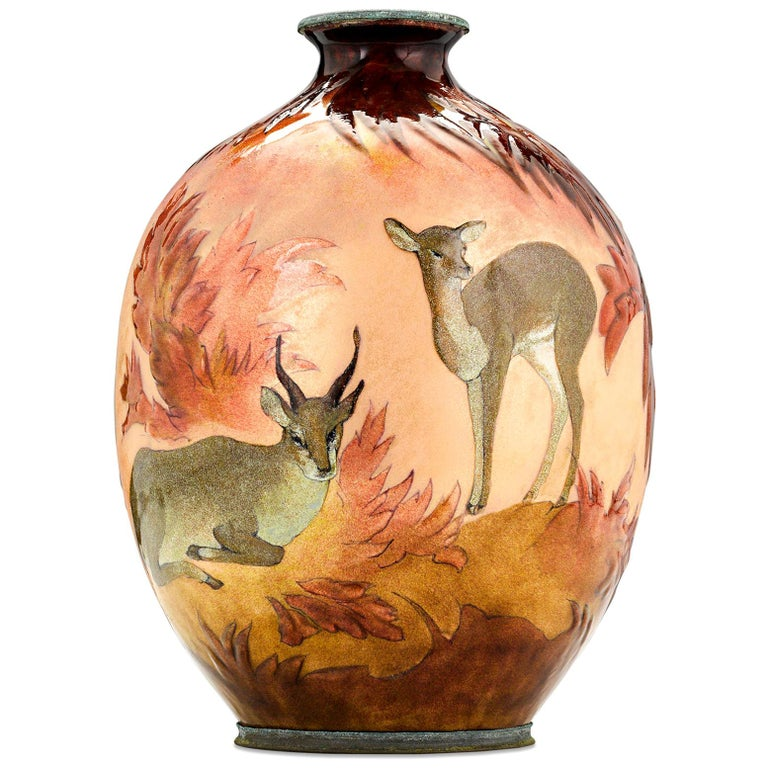 Forest Vase by Camille Fauré