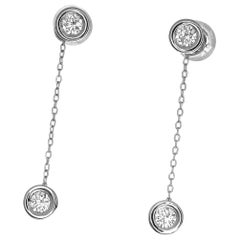 Forevermark 0.122 0.123 0.125 0.126 Carat Diamonds Platinum Studs Earrings