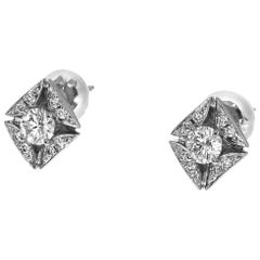 Forevermark 0.18 / 0.18 Carat Diamonds Platinum Studs Earrings