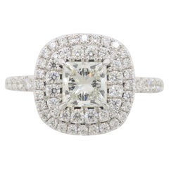 Forevermark Certified Double Halo Engagement Ring