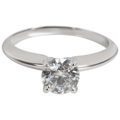 Forevermark Solitaire Diamond Ring in Platinum E SI1 0.9 Carat