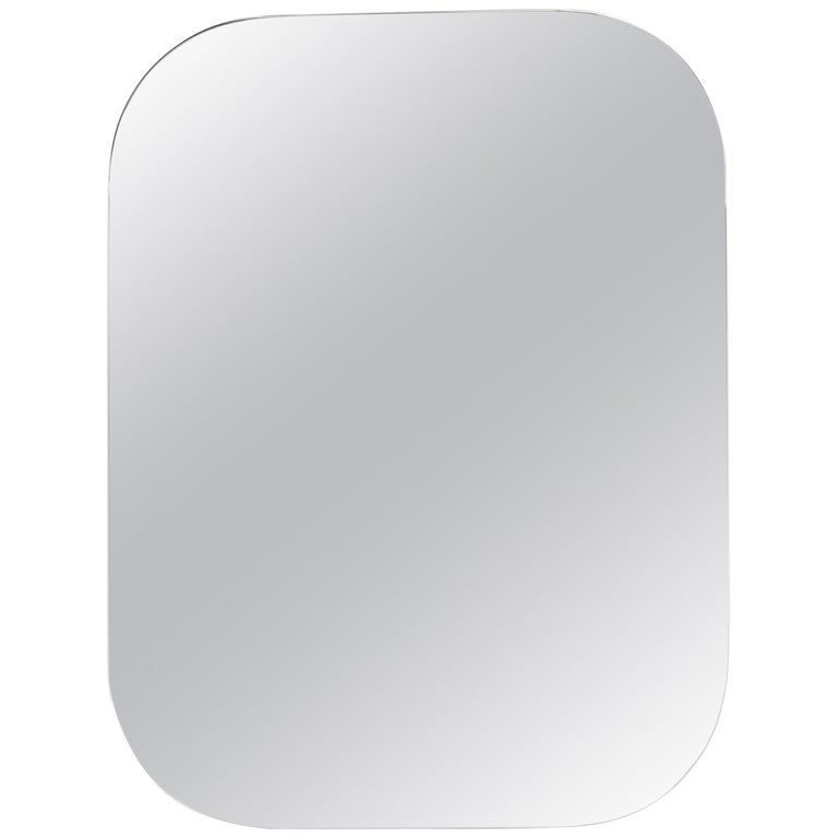 Form Us With Love, Cage Wall Mirror, White 1