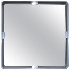 Forma Nova Italian Sculptural Steel Mirror
