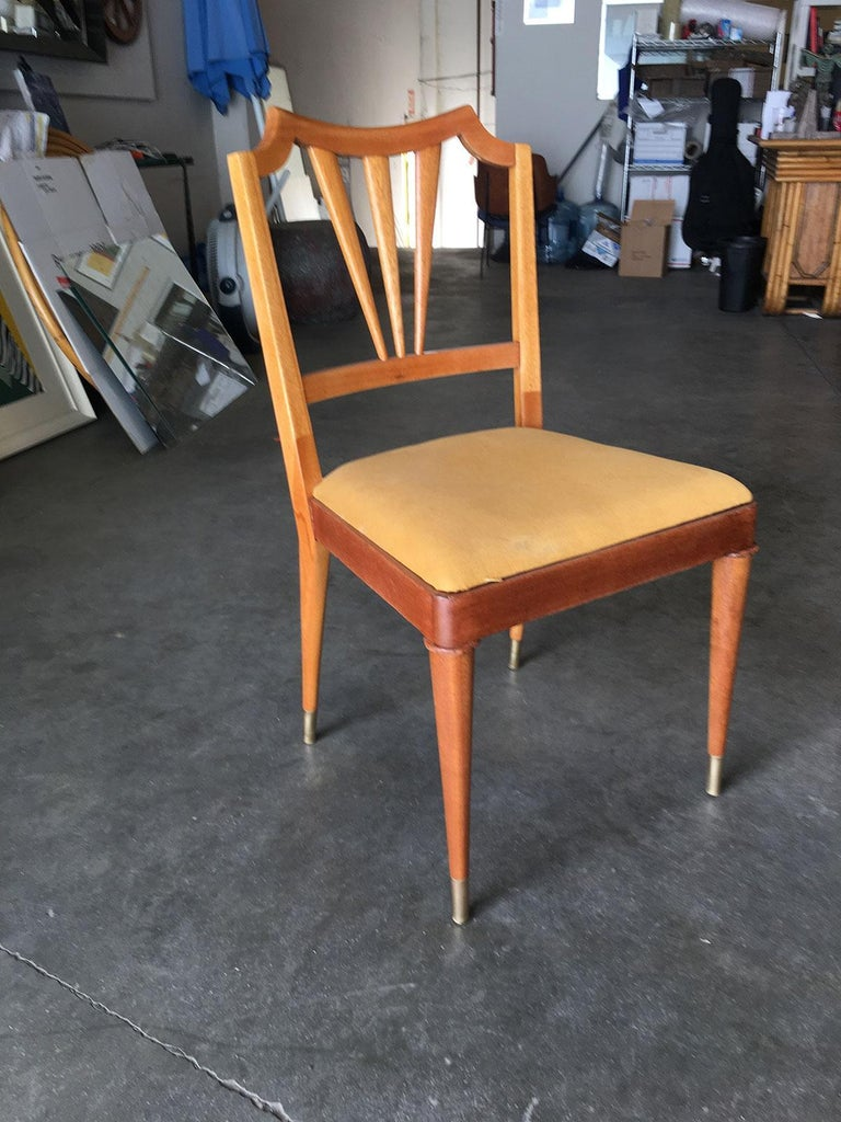 dining room tables sets sale | Formal Mid-Century Dining Room Table and Set of Six Chairs ...