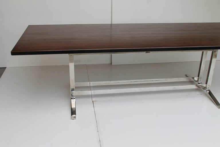 Mid-Century Modern Mid-Century Italian Formanova rosewood Table by Gianni Moscatelli, circa 1965 For Sale