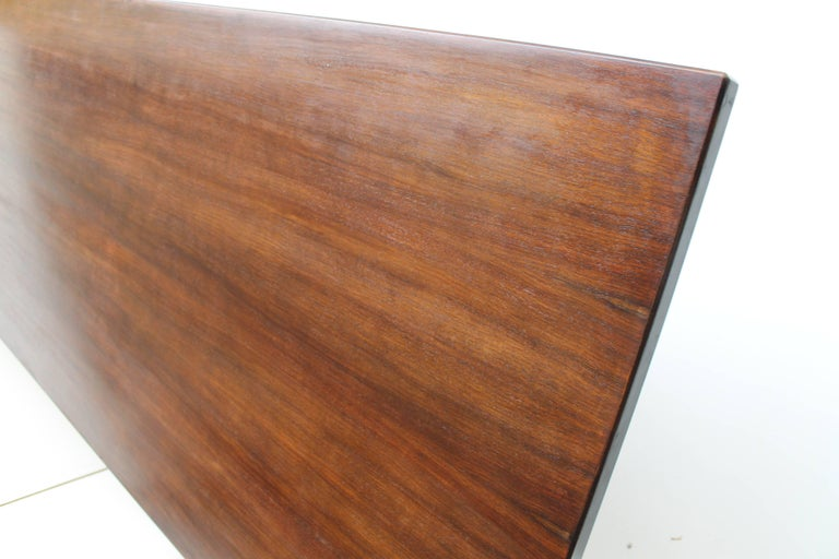 Mid-20th Century Mid-Century Italian Formanova rosewood Table by Gianni Moscatelli, circa 1965 For Sale
