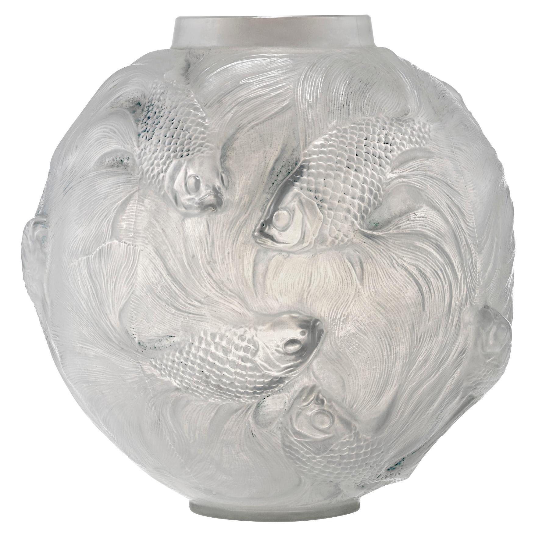 Formose Glass Vase by René Lalique