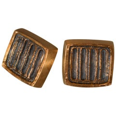 Forms and Surfaces Bronze Door Pulls