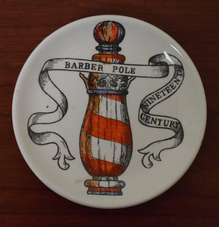 Mid-Century Modern Fornasetti American Antiques Coasters For Sale