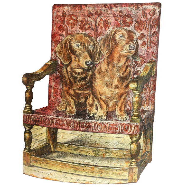 Fornasetti Bassotti Umbrella Stand For Sale