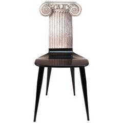 Fornasetti 'Capitello Ionico' Chair