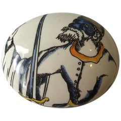 Fornasetti Ceramic Paperweight