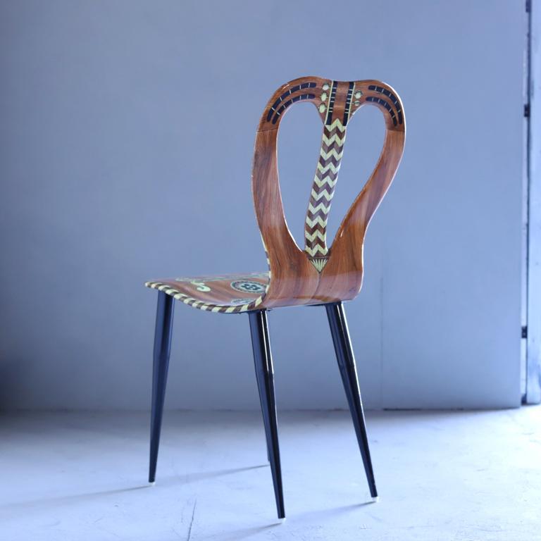 Mid-Century Modern Fornasetti Chair
