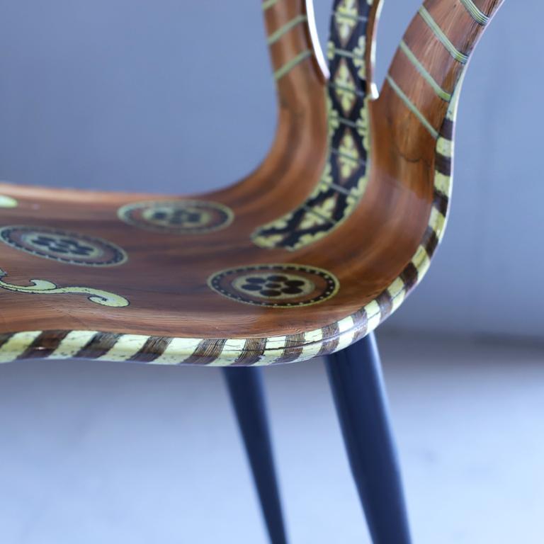 Italian Fornasetti Chair