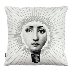 Fornasetti Cushion Abbaglio from the Series Tema e Variazioni Cotton