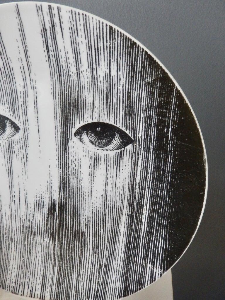 Modern Fornasetti Face Plate, Tema e Variazioni, N116 For Sale