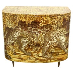 Fornasetti Italian 'Leopardo' Commode