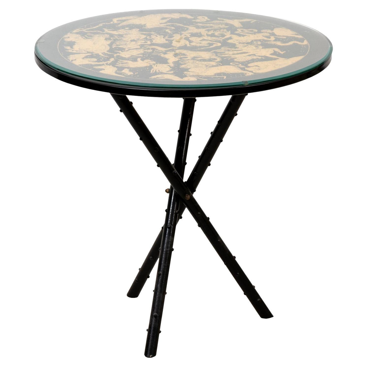 Fornasetti Italian Side Table