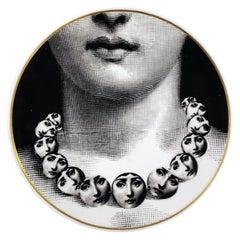 Fornasetti Rosenthal Plate- Temi e Variazioni-Themes and Variation, Motiv 16