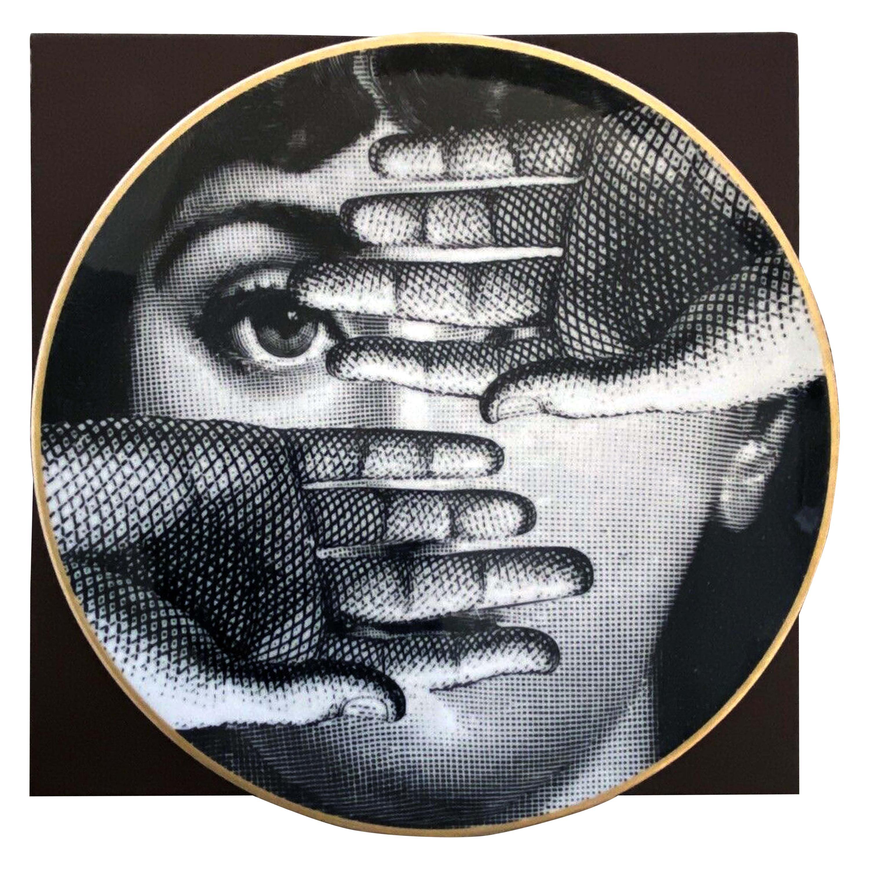 Fornasetti Rosenthal Porcelain Themes & Variations Plate, Motiv 15
