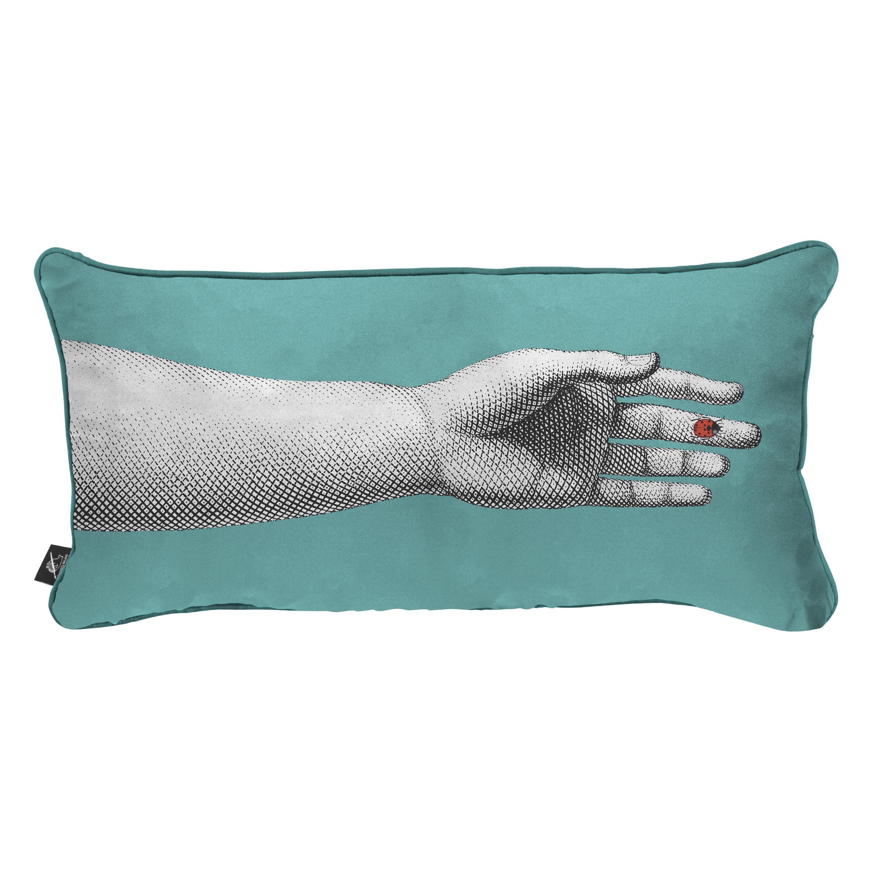 Fornasetti Silk Cushion Mano Hand