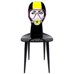 "Fornasetti ""Silviasub"" Chair"