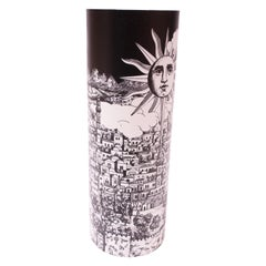 "Fornasetti ""Sole a Gerusalemme"" Table Lamp Produced by Antonangeli"
