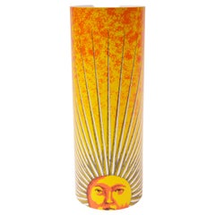 "Fornasetti ""Sole"" Table Lamp Produced by Antonangeli"
