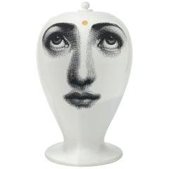 Fornasetti Vase Ajna Black/White/Gold