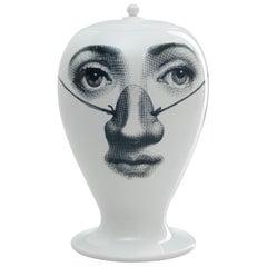 Fornasetti Vase Burlone Black/White