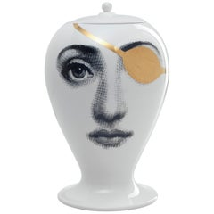Fornasetti Vase Pirata Black or White or Gold