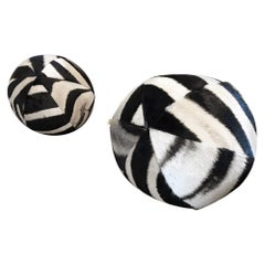 Forsyth Zebra Ball Pillow