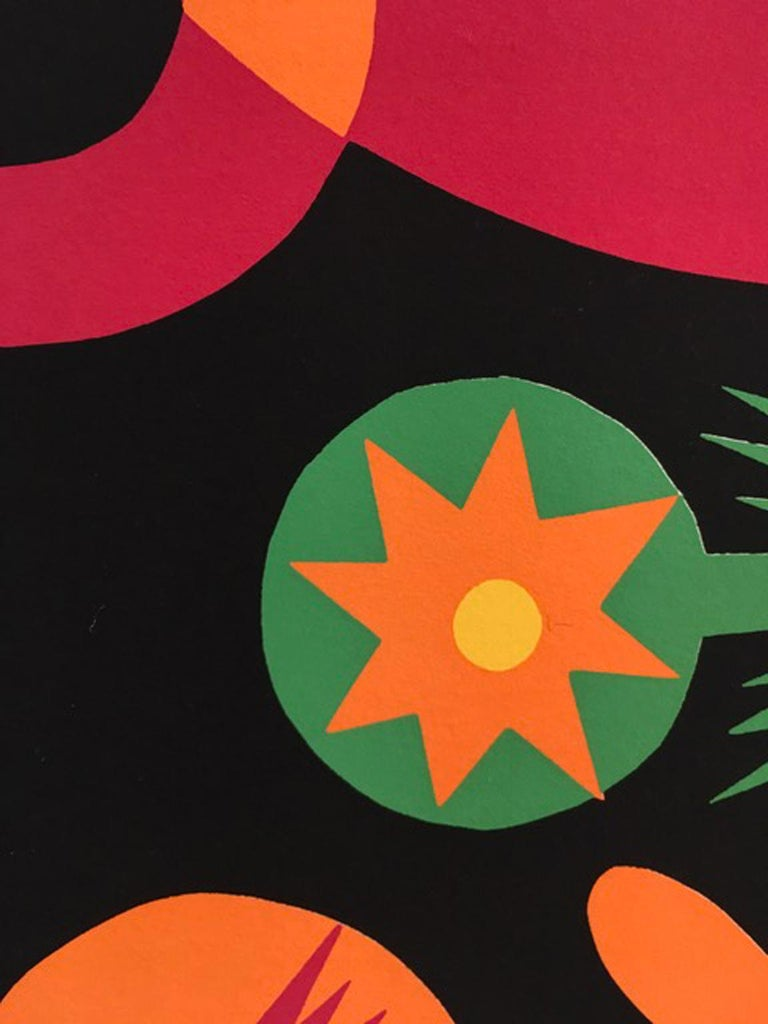Little Red Riding Hood by Fortunato Depero Abstract Print Italy 1974 For Sale 12