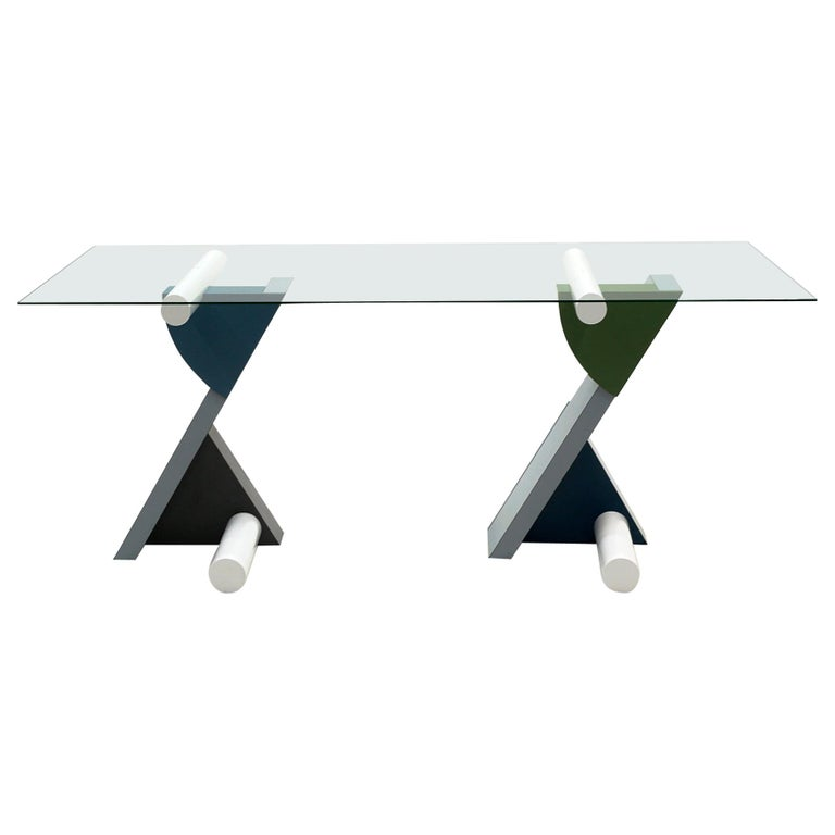 """Fortune"" Table / Desk by Michele de Lucchi for Memphis Milano, Early Original For Sale"
