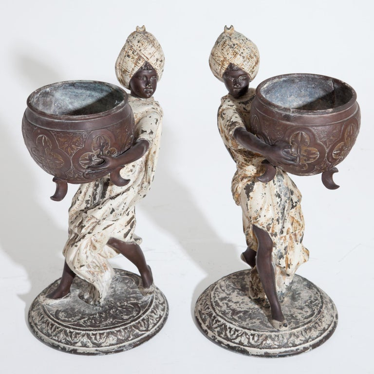Fortune Teller with Moors, German, circa 1880 For Sale 5